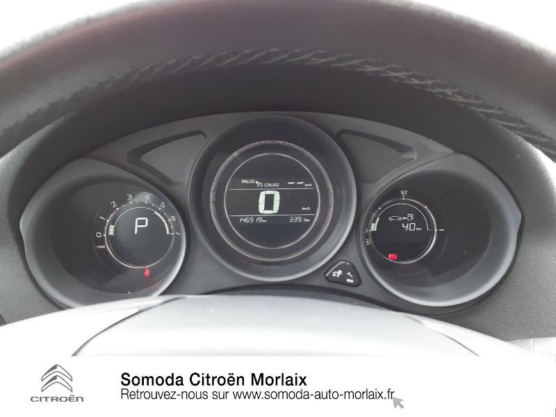 Citroen C4 BlueHDi 120ch Millenium S&S EAT6 Noir occasion à MORLAIX - photo n°14