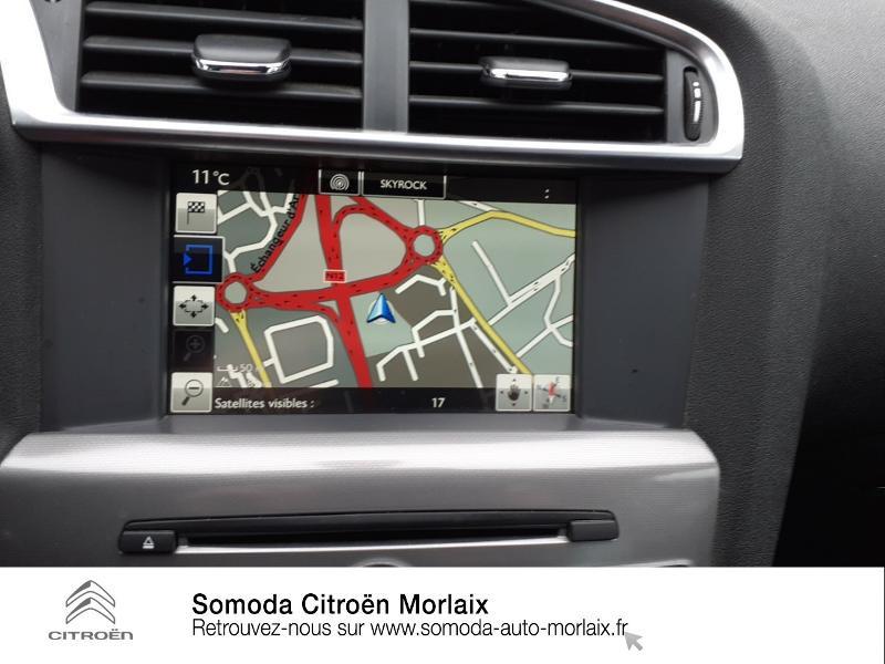 Citroen C4 BlueHDi 120ch Millenium S&S EAT6 Noir occasion à MORLAIX - photo n°16