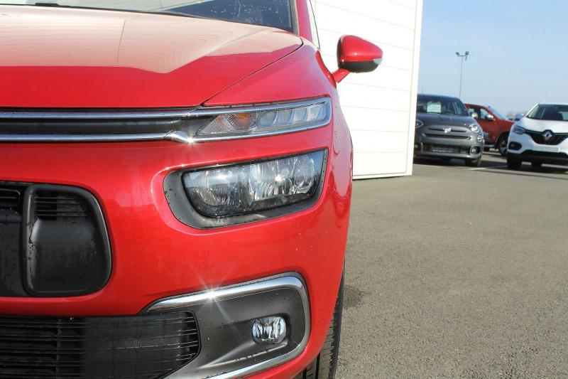 Citroen C4 BLUEHDI 130CH S&S FEEL EAT8 E6.D-TEMP Rouge occasion à Saint-Saturnin - photo n°5