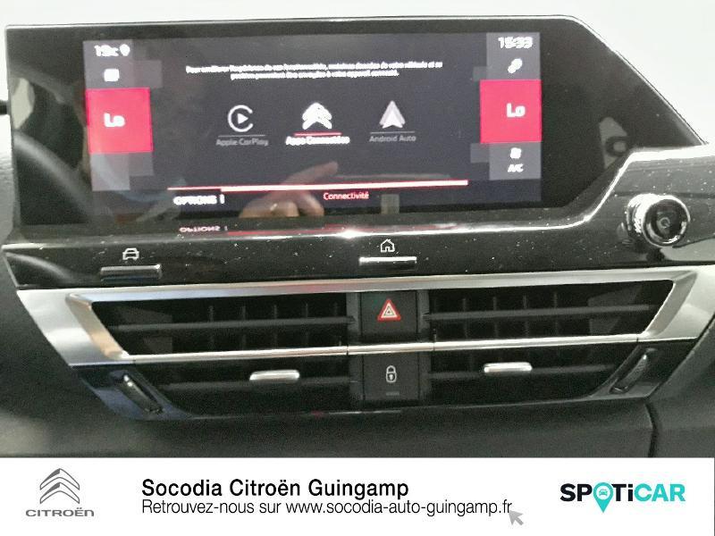 Citroen C4 BlueHDi 130ch S&S Shine EAT8 Noir occasion à GUINGAMP - photo n°16
