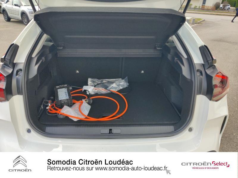 Citroen C4 Moteur électrique 136ch (100 kW) Feel Pack Automatique Blanc occasion à LOUDEAC - photo n°6