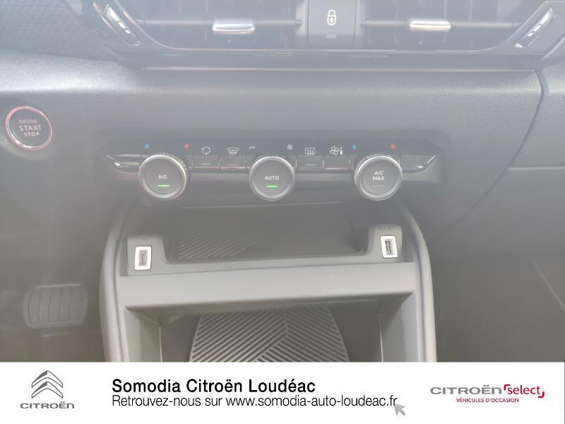 Citroen C4 Moteur électrique 136ch (100 kW) Feel Pack Automatique Blanc occasion à LOUDEAC - photo n°13
