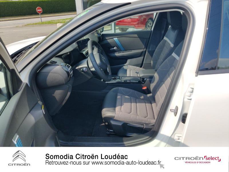 Citroen C4 Moteur électrique 136ch (100 kW) Feel Pack Automatique Blanc occasion à LOUDEAC - photo n°9