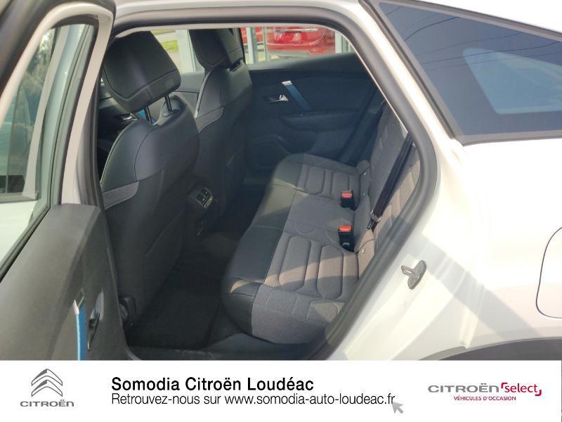 Citroen C4 Moteur électrique 136ch (100 kW) Feel Pack Automatique Blanc occasion à LOUDEAC - photo n°10
