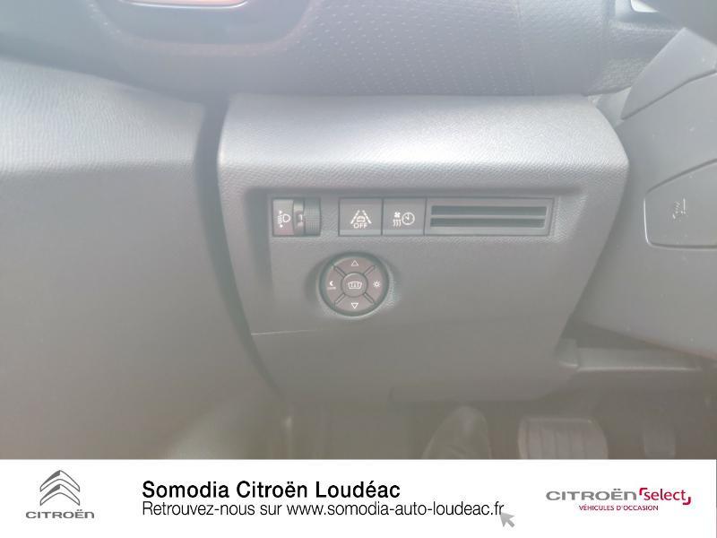 Citroen C4 Moteur électrique 136ch (100 kW) Feel Pack Automatique Blanc occasion à LOUDEAC - photo n°18