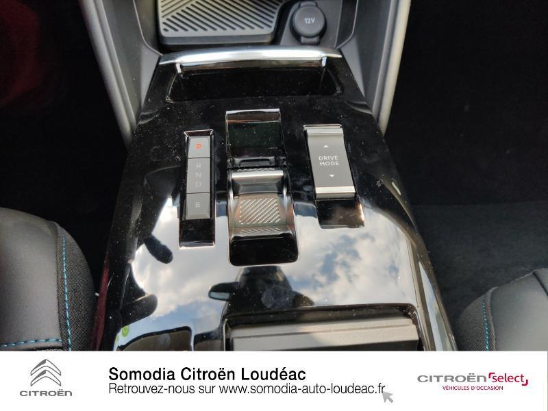 Citroen C4 Moteur électrique 136ch (100 kW) Feel Pack Automatique Blanc occasion à LOUDEAC - photo n°12