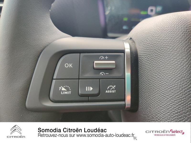 Citroen C4 Moteur électrique 136ch (100 kW) Feel Pack Automatique Blanc occasion à LOUDEAC - photo n°17