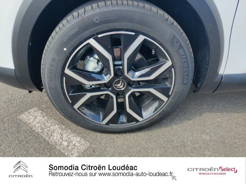 Citroen C4 Moteur électrique 136ch (100 kW) Feel Pack Automatique Blanc occasion à LOUDEAC - photo n°11