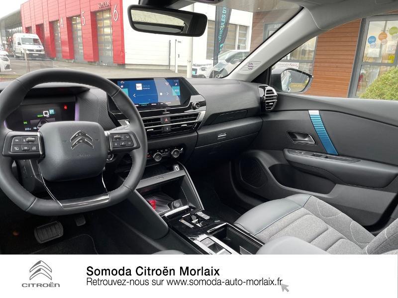 Citroen C4 Moteur électrique 136ch (100 kW) Feel Pack Automatique Bleu occasion à MORLAIX - photo n°8