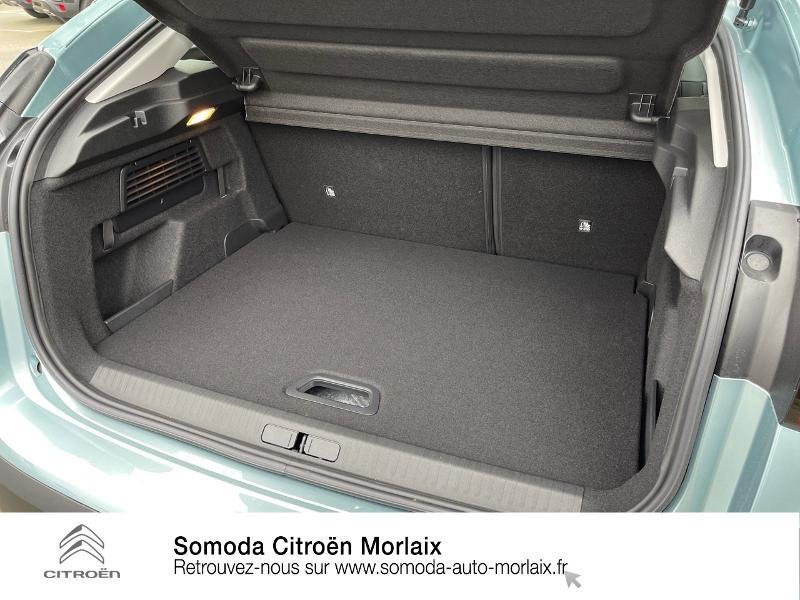 Citroen C4 Moteur électrique 136ch (100 kW) Feel Pack Automatique Bleu occasion à MORLAIX - photo n°6