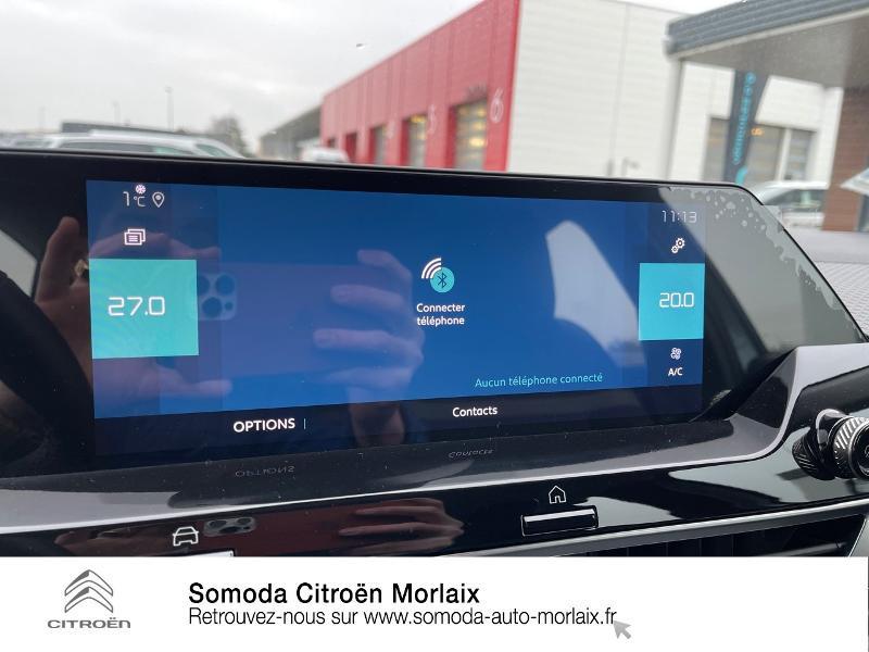 Citroen C4 Moteur électrique 136ch (100 kW) Feel Pack Automatique Bleu occasion à MORLAIX - photo n°18