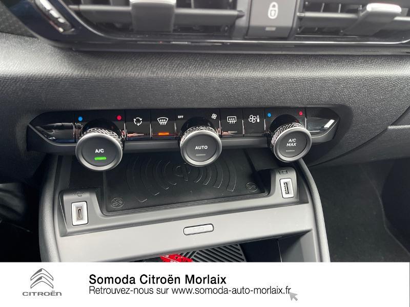 Citroen C4 Moteur électrique 136ch (100 kW) Feel Pack Automatique Bleu occasion à MORLAIX - photo n°17