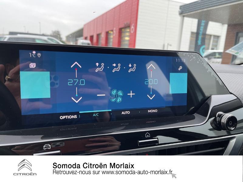 Citroen C4 Moteur électrique 136ch (100 kW) Feel Pack Automatique Bleu occasion à MORLAIX - photo n°19