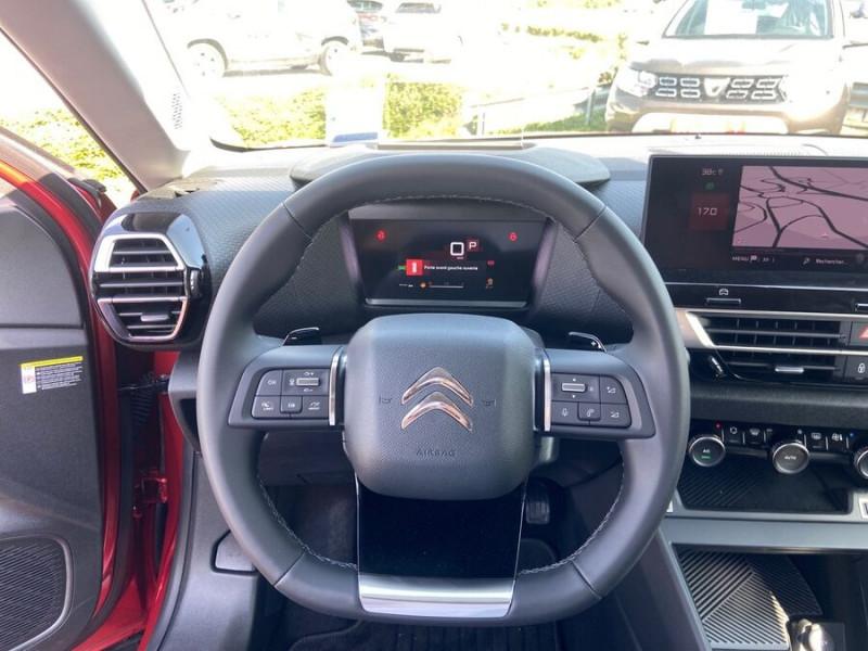Citroen C4 NEW BlueHDi 130 EAT8 SHINE GPS Full LED ADML JA18 ACC Highwa Rouge occasion à Montauban - photo n°13