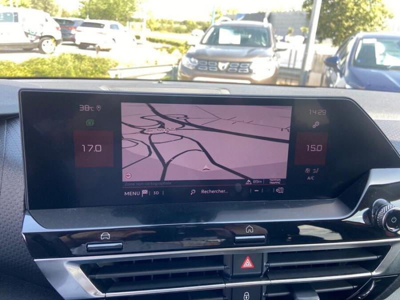 Citroen C4 NEW BlueHDi 130 EAT8 SHINE GPS Full LED ADML JA18 ACC Highwa Rouge occasion à Montauban - photo n°12
