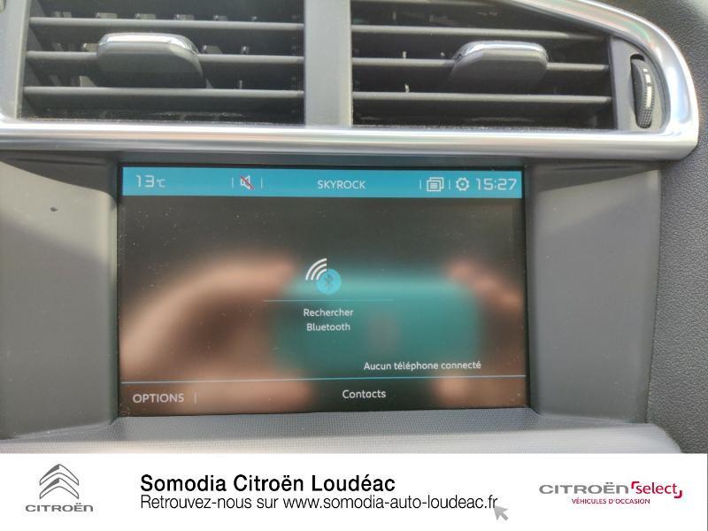 Citroen C4 PureTech 110ch Millenium Gris occasion à LOUDEAC - photo n°15