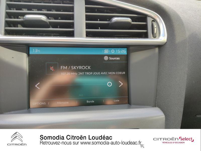 Citroen C4 PureTech 110ch Millenium Gris occasion à LOUDEAC - photo n°13