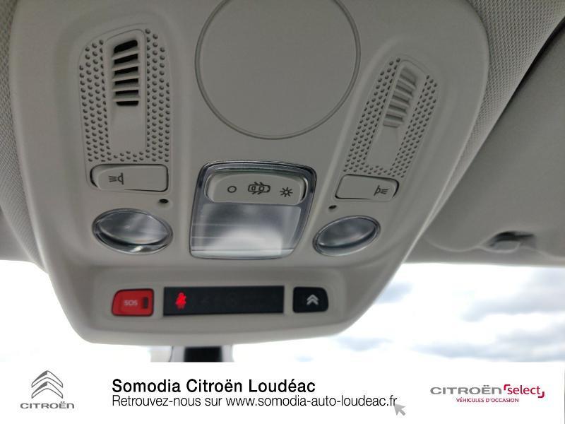 Citroen C4 PureTech 110ch Millenium Gris occasion à LOUDEAC - photo n°17