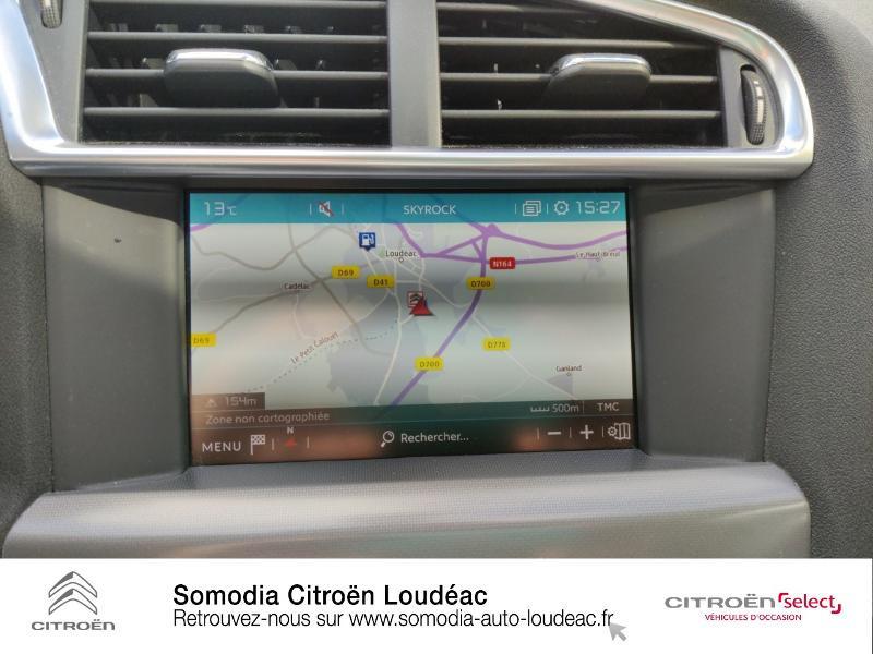 Citroen C4 PureTech 110ch Millenium Gris occasion à LOUDEAC - photo n°14