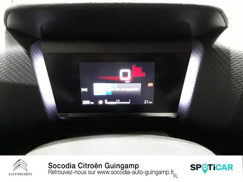 Citroen C4 PureTech 130ch S&S Shine Noir occasion à GUINGAMP - photo n°12
