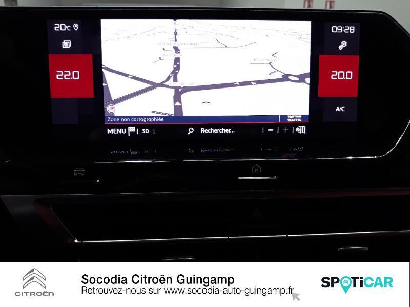 Citroen C4 PureTech 130ch S&S Shine Noir occasion à GUINGAMP - photo n°14