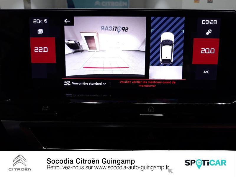 Citroen C4 PureTech 130ch S&S Shine Noir occasion à GUINGAMP - photo n°15