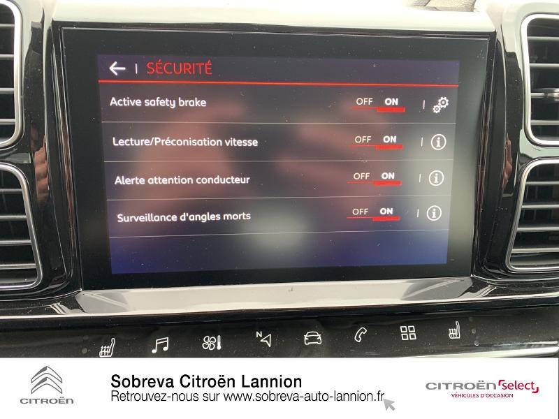 Citroen C5 Aircross BlueHDi 130ch S&S Live EAT8 E6.d-TEMP Blanc occasion à LANNION - photo n°15