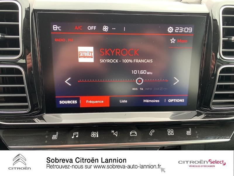Citroen C5 Aircross BlueHDi 130ch S&S Live EAT8 E6.d-TEMP Blanc occasion à LANNION - photo n°12