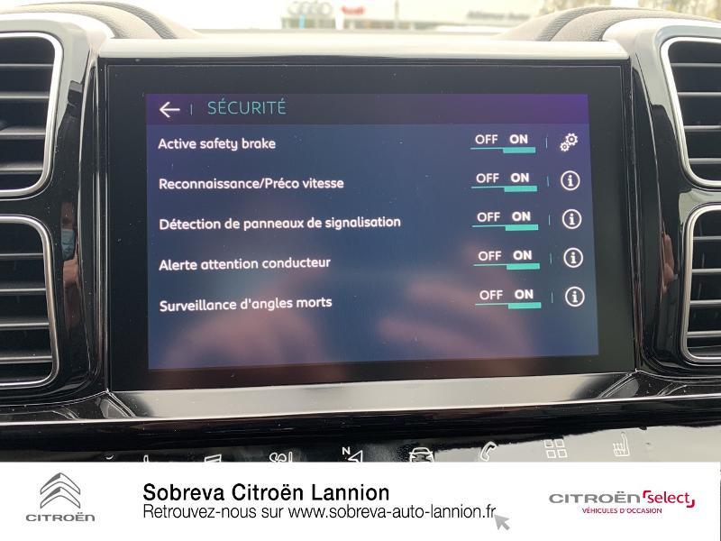 Citroen C5 Aircross Hybrid 225ch Shine Pack e-EAT8 Blanc occasion à LANNION - photo n°16