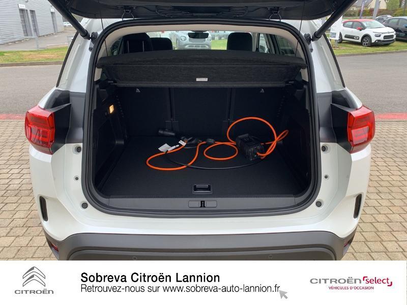 Citroen C5 Aircross Hybrid 225ch Shine Pack e-EAT8 Blanc occasion à LANNION - photo n°6