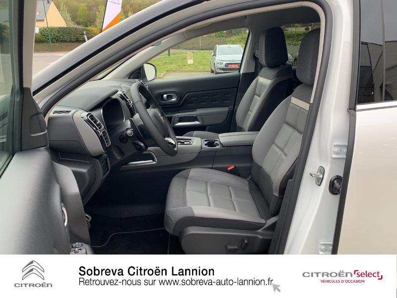 Citroen C5 Aircross Hybrid 225ch Shine Pack e-EAT8 Blanc occasion à LANNION - photo n°9