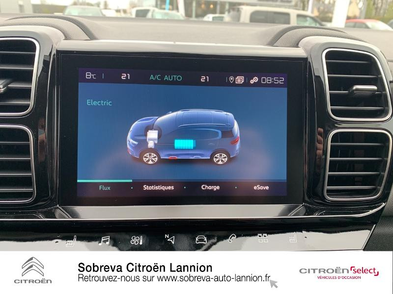 Citroen C5 Aircross Hybrid 225ch Shine Pack e-EAT8 Blanc occasion à LANNION - photo n°13
