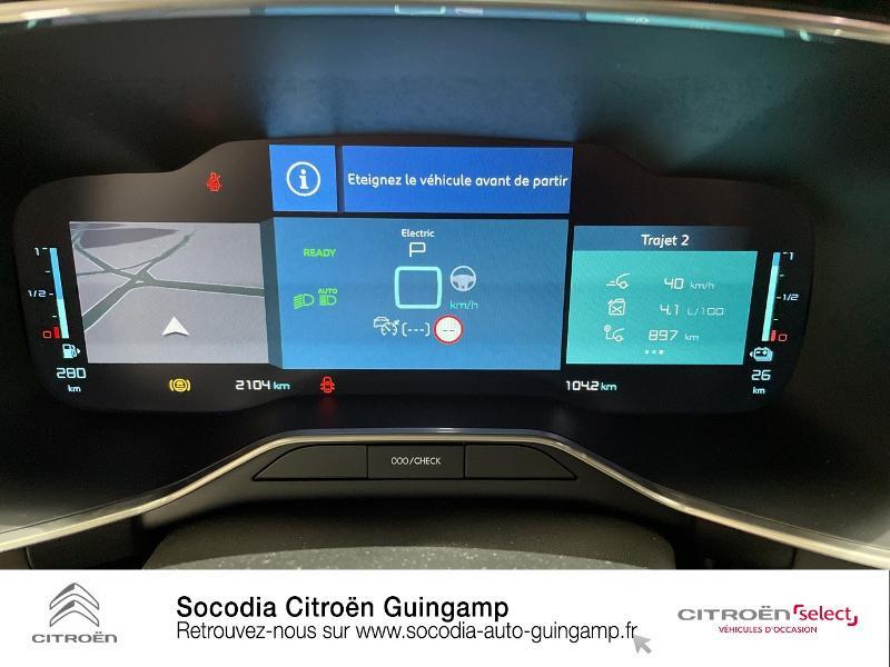 Citroen C5 Aircross Hybrid 225ch Shine Pack e-EAT8 Noir occasion à GUINGAMP - photo n°12