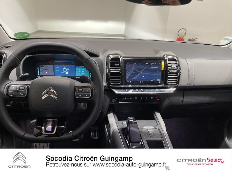 Citroen C5 Aircross Hybrid 225ch Shine Pack e-EAT8 Noir occasion à GUINGAMP - photo n°8