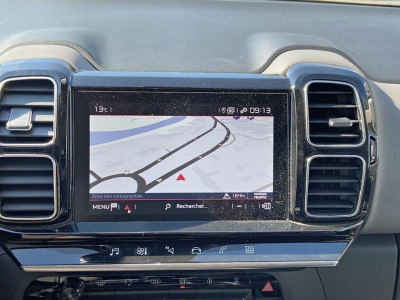 Citroen C5 Aircross PureTech 130 BV6 FEEL GPS Caméra Toit Noir Bleu occasion à Toulouse - photo n°14