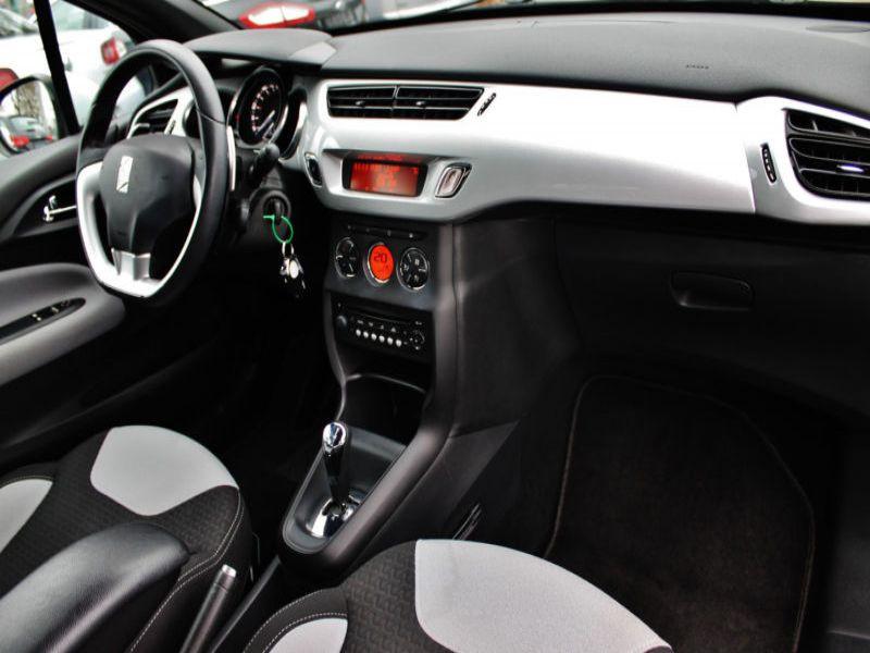 Citroen DS3 1.4 VTI 95 ch Noir occasion à Beaupuy - photo n°7