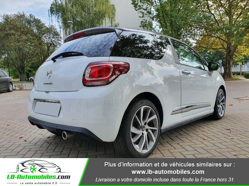 Citroen DS3 BlueHDi 100 / SoChic Blanc occasion à Beaupuy - photo n°2