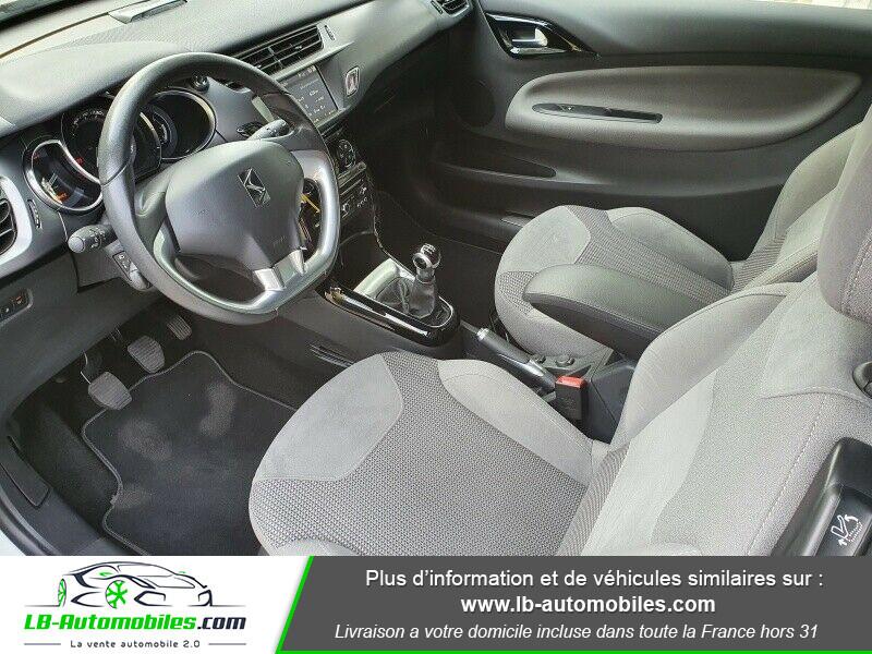 Citroen DS3 BlueHDi 100 / SoChic Blanc occasion à Beaupuy - photo n°3