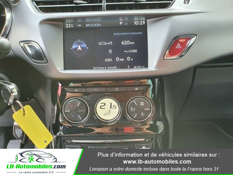 Citroen DS3 BlueHDi 100 / SoChic Blanc occasion à Beaupuy - photo n°5