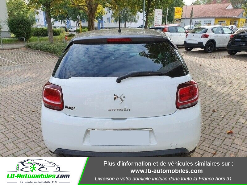 Citroen DS3 BlueHDi 100 / SoChic Blanc occasion à Beaupuy - photo n°10