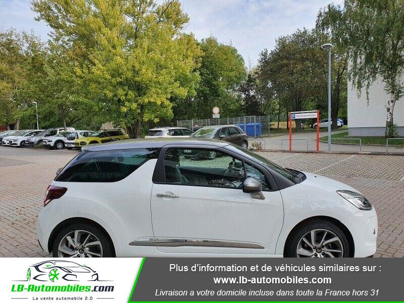 Citroen DS3 BlueHDi 100 / SoChic Blanc occasion à Beaupuy - photo n°12