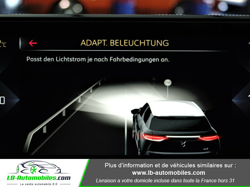 Citroen DS3 Crossback SoChic PureTech 100 Gris occasion à Beaupuy - photo n°9