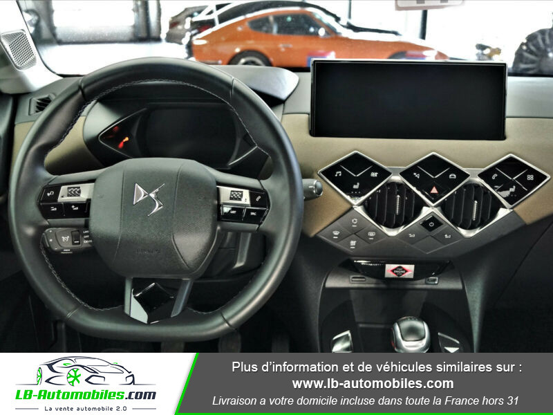 Citroen DS3 Crossback SoChic PureTech 100 Gris occasion à Beaupuy - photo n°6