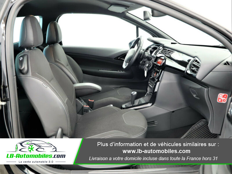 Citroen DS3 e-HDi 90 / So Chic ETG6 Noir occasion à Beaupuy - photo n°6