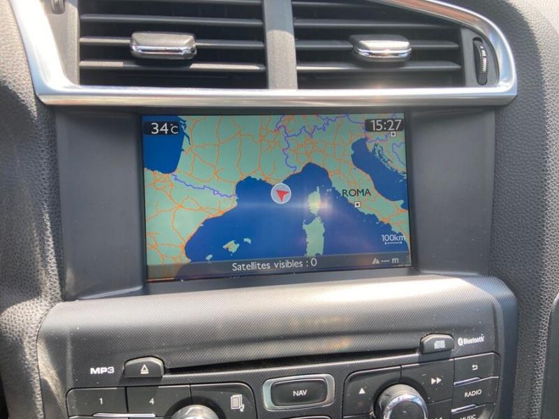 Citroen DS4 1.6 HDI 112 SO CHIC GPS Gris occasion à Lescure-d'Albigeois - photo n°14