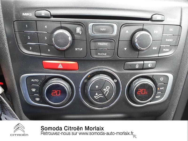 Citroen DS4 2.0 HDi160 FAP Sport Chic Marron occasion à MORLAIX - photo n°15