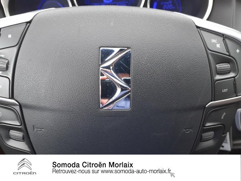 Citroen DS4 2.0 HDi160 FAP Sport Chic Marron occasion à MORLAIX - photo n°13