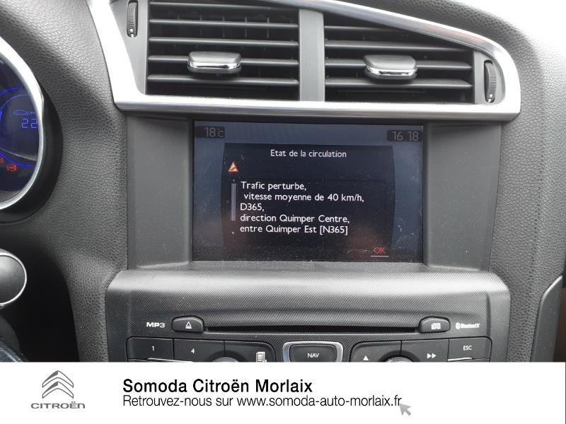 Citroen DS4 2.0 HDi160 FAP Sport Chic Marron occasion à MORLAIX - photo n°12