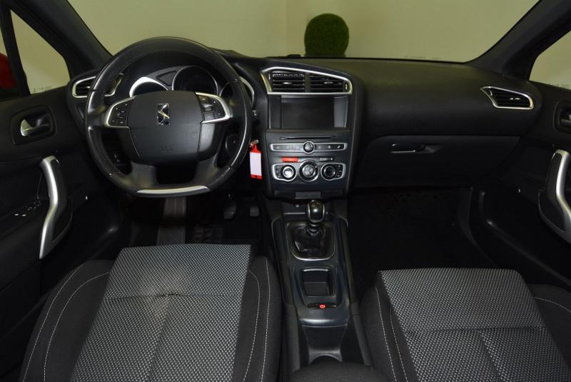 Citroen DS4 BLUEHDI 120CH BUSINESS S&S Rouge occasion à Quimper - photo n°5