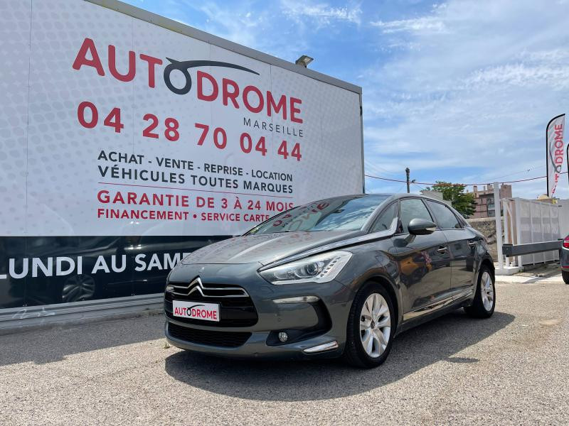 Citroen DS5 occasion 2013 mise en vente à Marseille 10 par le garage AUTODROME - photo n°1